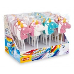 Sucettes Licorne Jelly