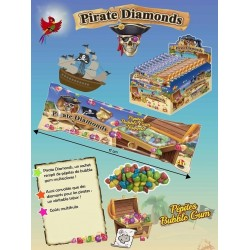 Bubble Gum Pirate Diamonds