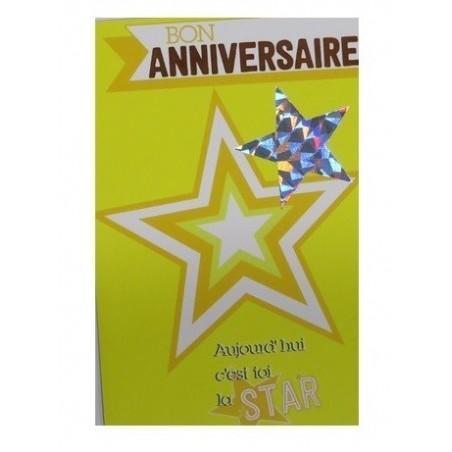 Carte Anniversaire Ado Carterie Mille Produits