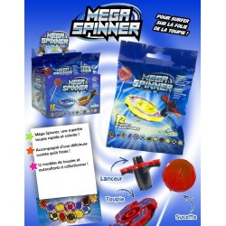 Sucettes Mega Spinner