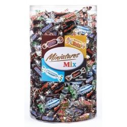 Chocolat Miniatures Mix 3 Kg