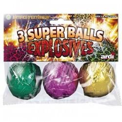 3 Super Balls Explosives