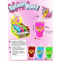 Sucettes Splashy Potty