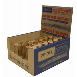 Présentoir de 30 Couteaux Opinel Inox