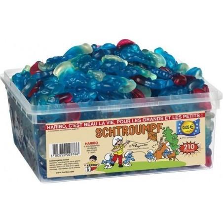 Bonbons Haribo Schtroumpfs