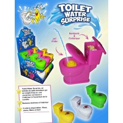 Toilet Water Surprise