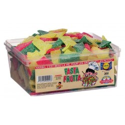 Tubo Haribo Pasta Frutta Pik x 200 pièces