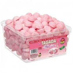 Tubo Haribo Tagada Pink  x 210 pièces
