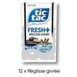 Tic Tac Fresh Réglisse Givrée