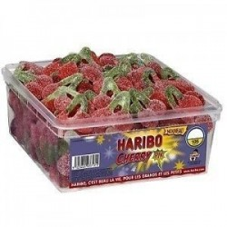 Tubo Haribo Cherry Pik x 105 pièces