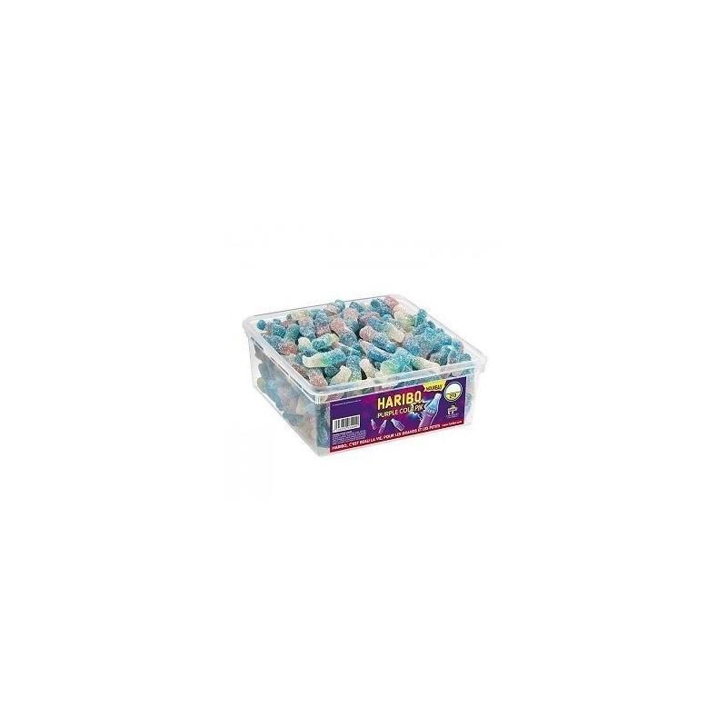 Tubo Haribo Purple Cola Pik x 210 pièces