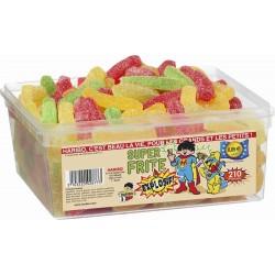 Tubo Haribo Super Frites Pik x 210 pièces