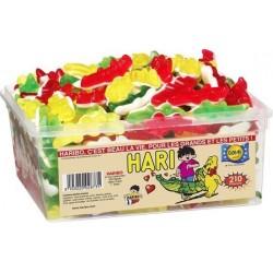 Tubo Haribo Crocodile x 210 pièces