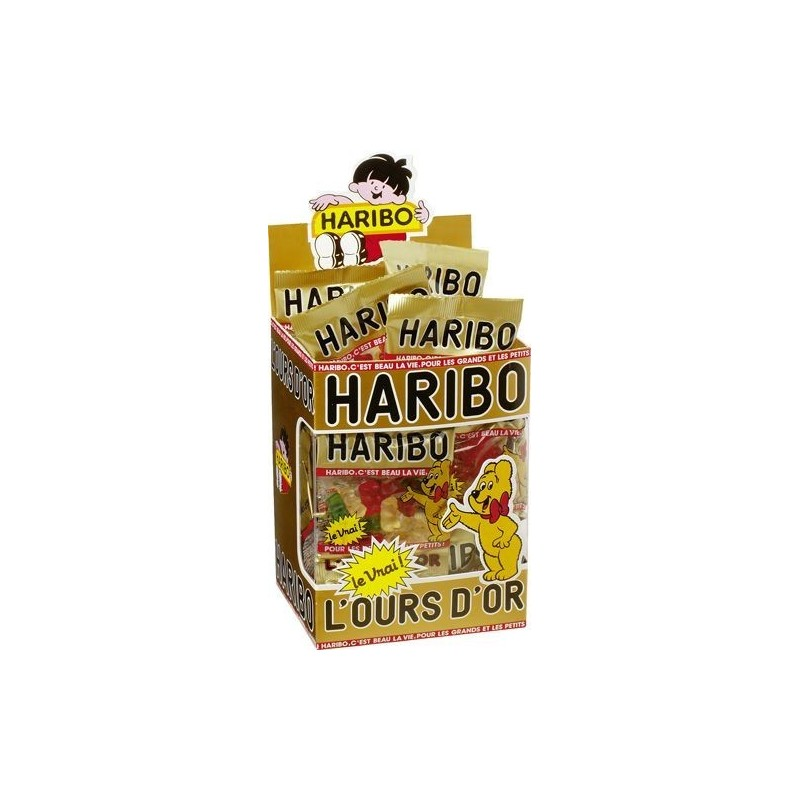 30 Mini Sachets Haribo Ours d'Or