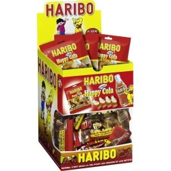 30 Mini Sachets Haribo Happy Cola