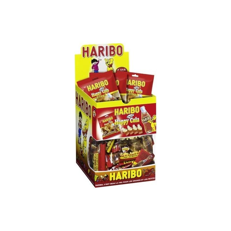 30 Mini Sachets Haribo Happy Cola