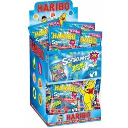 30 Mini Sachets Haribo Schtroumpfs Pik