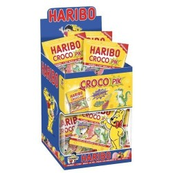 30 Mini Sachets Haribo Crocodile Pik