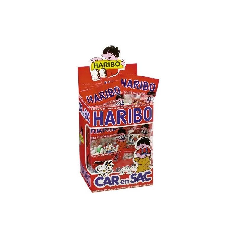 30 Mini Sachets Haribo Carensac