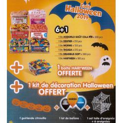 Colis Bonbons Haribo Halloween