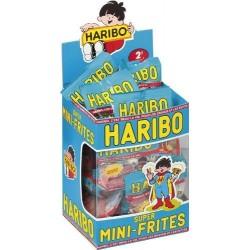 30 Mini Sachets Haribo Super Frites Pik