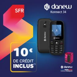 Pack Téléphone SFR Danew Konnect 34