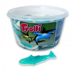 Tubo Trolli Sharky x 75 pièces