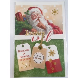Carte Joyeux Noël Père Noël