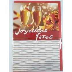 Carte Joyeux Noël et Bonne...