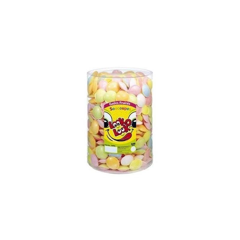 Soucoupe Goût Fruités x 500 pièces