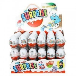 Kinder Surprise x 72 Oeufs Chocolats
