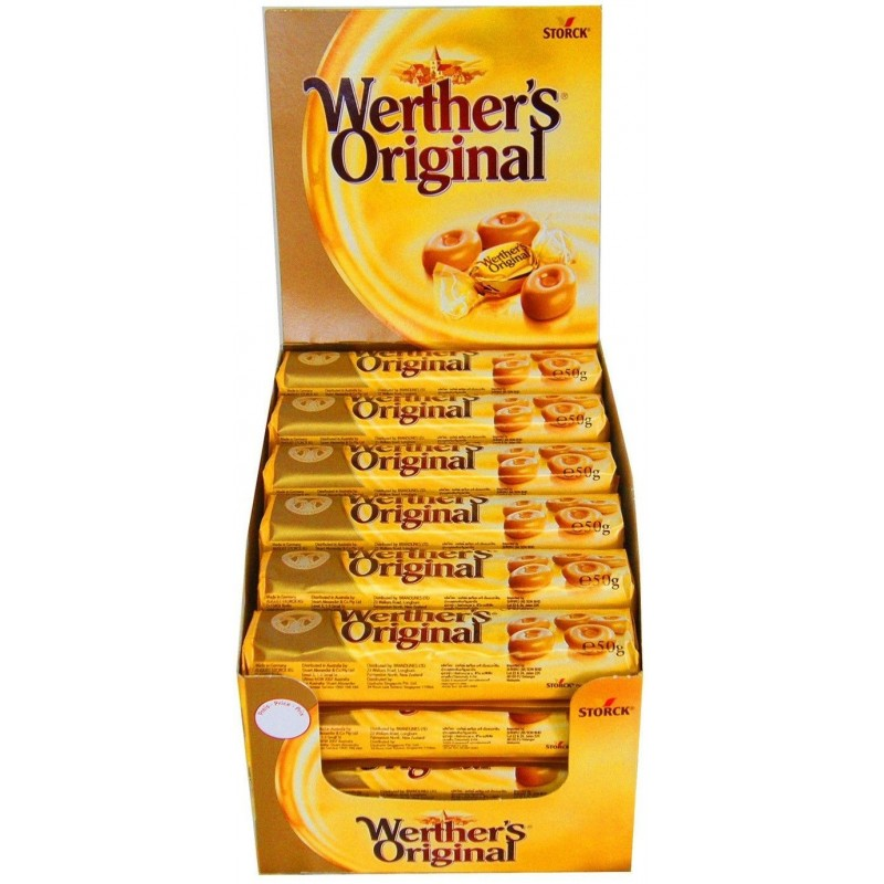 Werther's Original x 24 tubes de 50 grammes