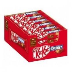 Kit Kat Chunky x 24 Barres Chocolatées
