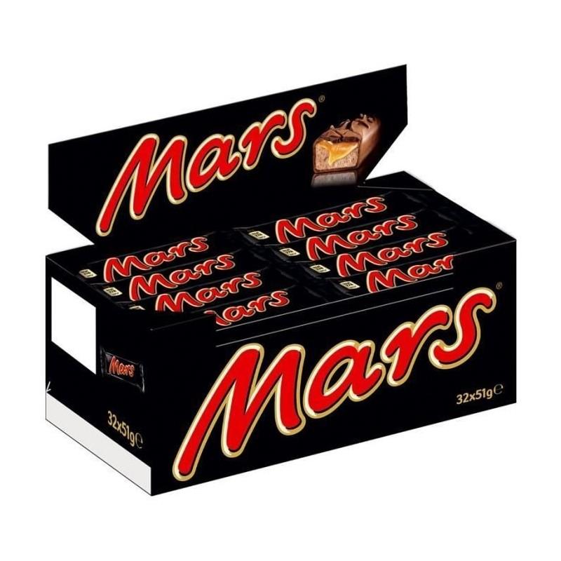 Mars Chocolat x 32 Barres Chocolatées