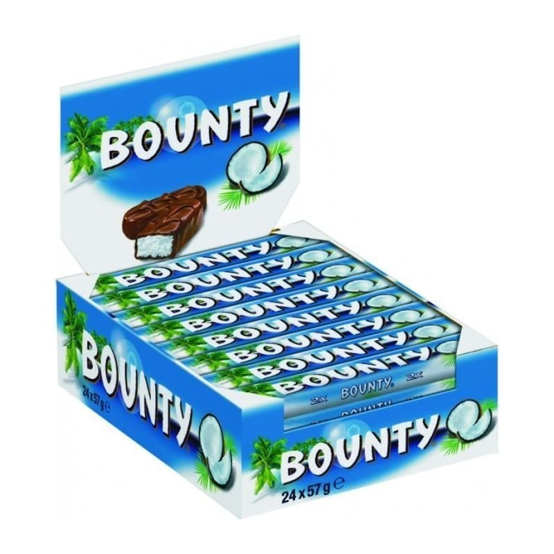 Bounty x 24 Barres Chocolatées