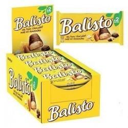 Balisto Miel Amandes x 20 Barres Chocolatées de 18,5 grammes