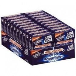 Hollywood Chewing Gum Power Fresh 20 Etuis de 10 Dragées