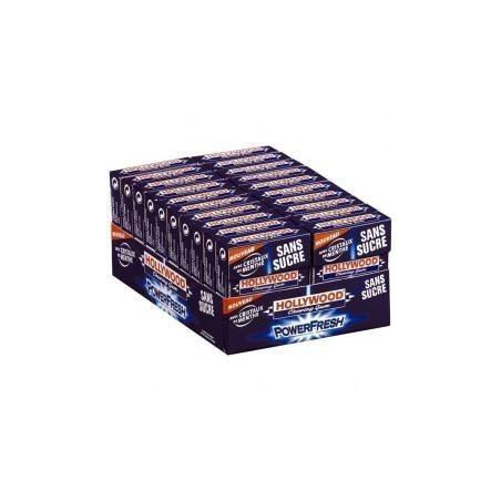 Hollywood Chewing Gum Power Fresh 20 Etuis de 10 Dragées
