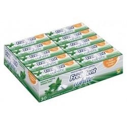Freedent White Chewing Gum Menthe Verte 30 Etuis de 10 Dragées