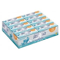 Freedent White Chewing Gum Menthe Douce 30 Etuis de 10 Dragées