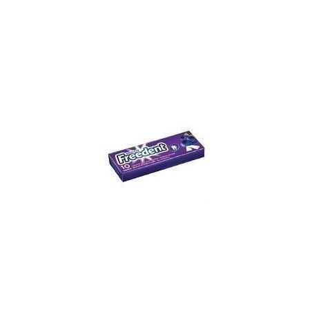Freedent Chewing Gum Gout Myrtille 30 Etuis de 10 Dragées