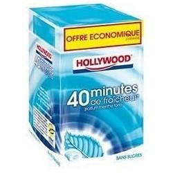 Hollywood 40 minutes Menthe Forte 16 étuis de 10 dragées