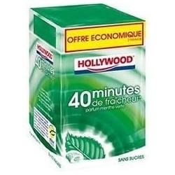 Hollywood 40 minutes Menthe Fraiche 16 étuis de 10 dragées