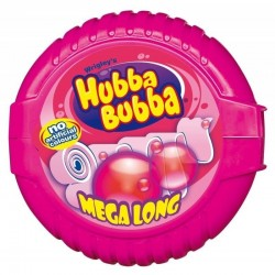 Hubba Bubba Fancy Fruit x 12 rouleaux d'1m80 de Chewing Gum