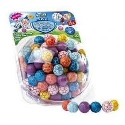 Bubble Gum Foot Balls x 150 unités