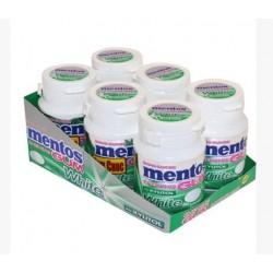 Mentos White Menthe Verte x 6 Boites de 60 grammes