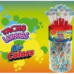 150 Sucettes Lottalollies Bi Colors