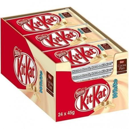 Barres Chocolatées Kit Kat White