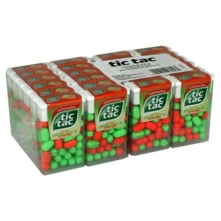 Tic Tac citron vert/ orange x 24 Etuis
