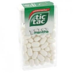 Tic Tac 100 Pastilles Menthe x 12 Etuis